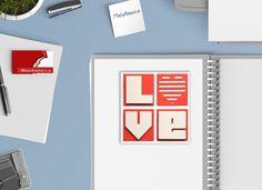 """""""Love Card"""" Con questo biglietto di auguri, ideale per diverse occasioni, doni un tocco unico ad ogni regalo.  Ogni biglietto, realizzato interamente a mano, è unico nel suo genere.  La confezione è composta da:1 biglietto d'auguri """"LOVE"""", adatto per i tuoi momenti speciali: 12 x 12 cm (4,7"""" x 4,7"""") + busta bianca 12,5 x 12,5 cm  (4,9"""" x 4,9"""")"""