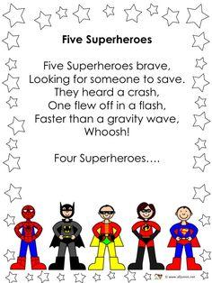 alljoinin.net blog: 5 Superheroes Rhyme