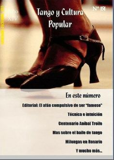 Tango y Cultura Popular N° 151 Tango, Popular, Spanish, Club, Dancing, Culture, Popular Pins, Spanish Language, Spain