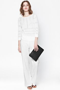 All White, All White, All White: A Look At Spring's Crispest Color Trend #refinery29