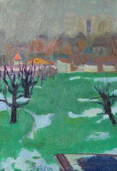 Albert Pfister Landschaft im Vorfrühling Painting, Art, Switzerland, Scenery, Painting Art, Kunst, Art Background, Paintings, Performing Arts
