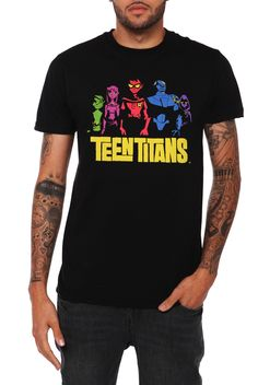 DC Comics Teen Titans T-Shirt | Hot Topic