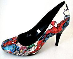 Comic book shoes!
