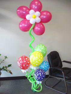 A Birthday Balloon Bouquet I made. ~ Chris