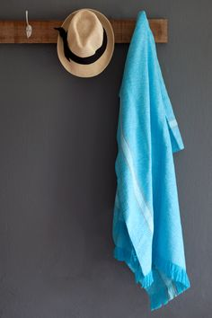 Our Summer Towel is a bright & versatile pure cotton towel, woven in South Africa. Weaving Patterns, Beach Towel, Organic Cotton, Turquoise, House Styles, Summer, How To Wear, Gift Tree, Bathrooms
