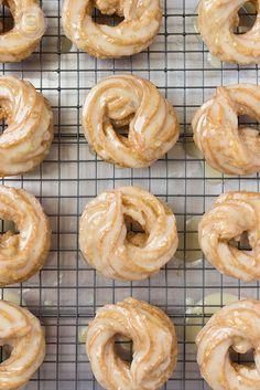 French Honey Crullers Butter Glazed 3 by littlespicejar, via Flickr