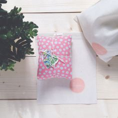 Lovely Lavender and Flaxseed heat pack by rubyandjoy on Etsy, £15.00