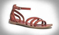 16 of the Best Strappy Shoes for Summer via Brit + Co.