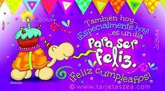 Para mi amor: Postales muy bonitas para decir te amo y feliz cumpleaños Fictional Characters, Club, Happy Birthday Cards, Birthday Cards, Birthday Images, Cake Birthday, Fantasy Characters