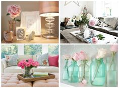 http://www.myvintagememoirs.com/2014/03/inspiration-flowers.html  #inspiration #decoration #flowers