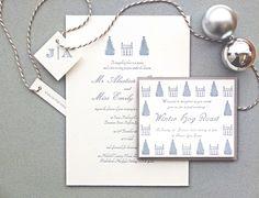 Wolf & Ink Winter Wedding Invitations