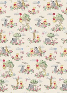 A Day In The Hundred Acre Wood   Beautiful forest scenes that tell a fun Winnie-the-Pooh story   Disney x Cath Kidston 2016  