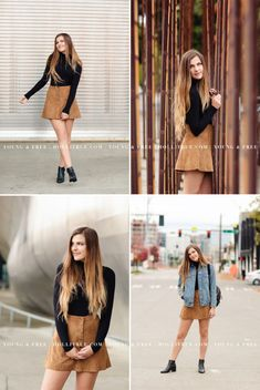 Urban-inspired Seattle photo session at Click Away with Oregon senior portrait photographer, Holli True