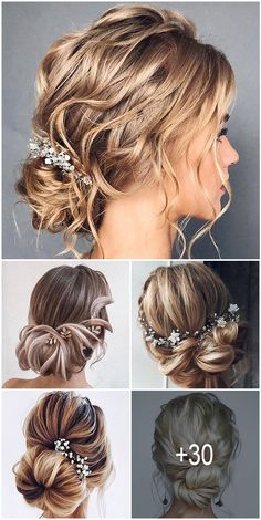 30 Stunning Wedding Hairstyles ❤️ Creation of wedding hairstyle needs prepar. - - 30 Stunning Wedding Hairstyles ❤️ Creation of wedding hairstyle needs preparation. It'd be great if bride can make a trial version. Wedding Hairstyles For Long Hair, Formal Hairstyles, Bride Hairstyles, Headband Hairstyles, Hairstyles Videos, Updo Hairstyle, Hair Wedding, Wedding Vows, Formal Wedding