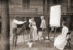 Early child photography, 1890s  photo by Robert Bain