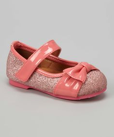 Look at this Launch Pink Gloria Mary Jane on #zulily today!