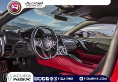 The Acura NSX excels at those traits, and it has supercar speed, keeping pace with European models. Acura Nsx Interior, 2017 Acura Nsx, New Luxury Cars, Car Interior Design, Luxury Interior, Fast Sports Cars, New Trucks, Super Cars, The Best