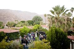 Charming Desert Wedding at the Colony Palms Hotel, Palm Springs CA
