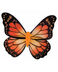 Wings Dance Troop Fancy Dress Costume Outfit UK 10-14 Ladies Monarch Butterfly