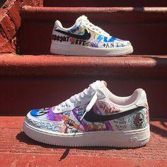 sale retailer efc7e fb749 Tenis Vans, Nike Af1, Air Force 1, Nike Air Force, Custom Shoes