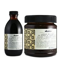 Love. Davine's Alchemic Chocolate Brown. {New Favorite} - love this color depositing shampoo and conditioner!