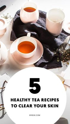 We've put together some delicious healthy tea recipes that may replace your daily coffee. Keep reading to find out how to make them.