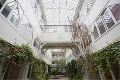 atrium, paris apartment
