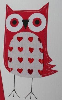 'Valentine Owl' by Tammy Lombardi