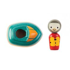 Speed Boat and Driver from Plan Toys