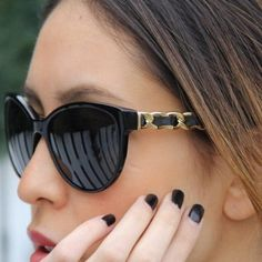 Chanel Sunglasses - never leave home without it.