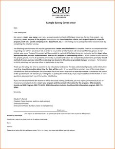 cover letter university application