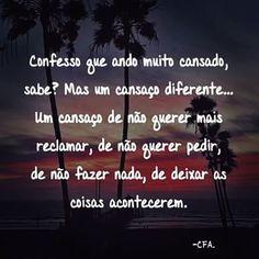 Confesso...