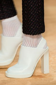 """You know the person who designed theses was like """"imagine nurses shoes, only add a chunky high heel and a sling back!"""""""