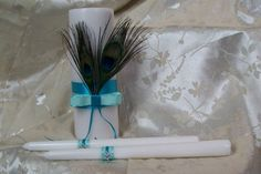 Peacock Feather Unity Set ♥ MandaleighDesigns - $35.00