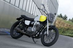 Kawasaki W800 limited edition bike by Philippe Starck
