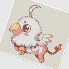 PDF Cross Stitch pattern - 0046 Baby Griffin. $3.75, via Etsy.
