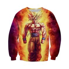 Dragon Ball Z Super Saiyan Goku Crewneck – Otakupicks