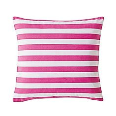 "Classic Stripe Pillow Cover – Juice #serenaandlily Get the 26"" square for the girls."