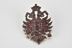 Гранатовый орден. Garnet brooch.
