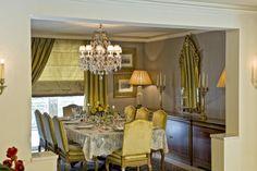 single house - dinning room  / Vouliagmeni  - Greece / interior designer Sissy Raptopoulou