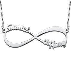 Regalos para la mejor hermana Env/ío gratis Collar infinito Te Quiero Hermana Plata de Ley 925 ba/ñado en Oro