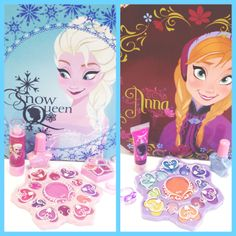 Which #Frozen Princess is your favourite- beautiful Snow Queen Elsa, or fearless optimist Anna?   Find the Frozen cosmetics case at Toys R Us UK!  #disneyfrozen #elsa #anna #makeup #markwins