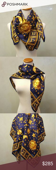 Gianni  Versace scarf 100% authentic great condition no box. women's Gianni Versace scarf. Slight blemish on the back side not even noticeable . Versace Accessories Scarves & Wraps