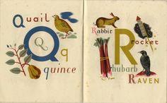 1940's Alphabet by Grace Gabler