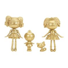 Mini Lalaloopsy Gold Collector Edition 3-pack - Jewel Sparkles