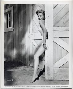 Elaine Stewart 50's