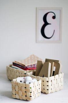 DIY Project: Basket Weaving