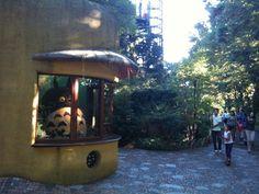三鷹の森ジブリ美術館 トトロの受付
