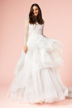Style #17101 from the BLISS collection by Monique Lhuillier