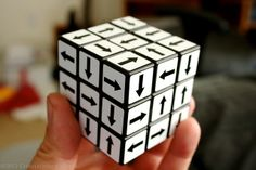 Every Which Way - Rubik's cube arrows